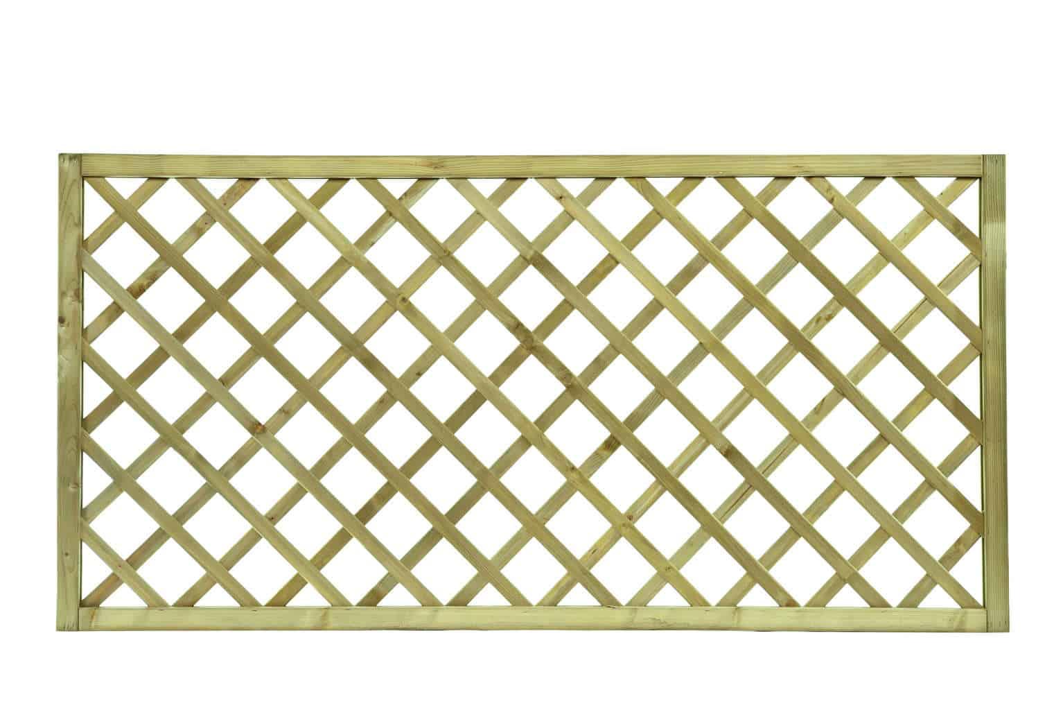 Heavy Duty Trellis (90mm lattice window) > Woodbank Timber